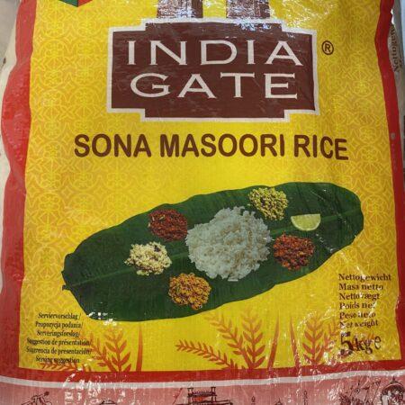 India Gate Sona Masoori Rice 5KG