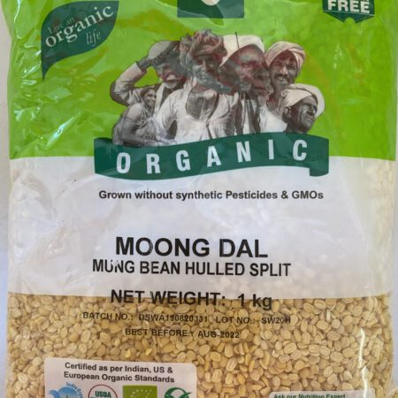 Organic Moong Dal 1kg
