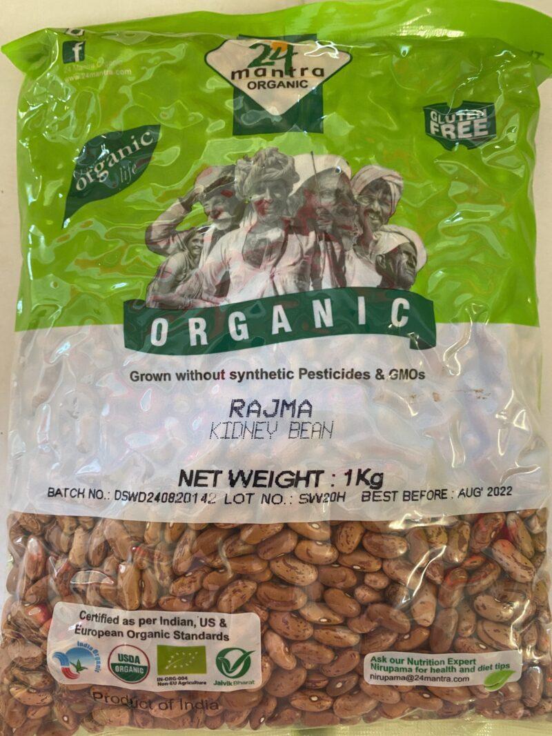 Organic Red Kidney Beans 1KG
