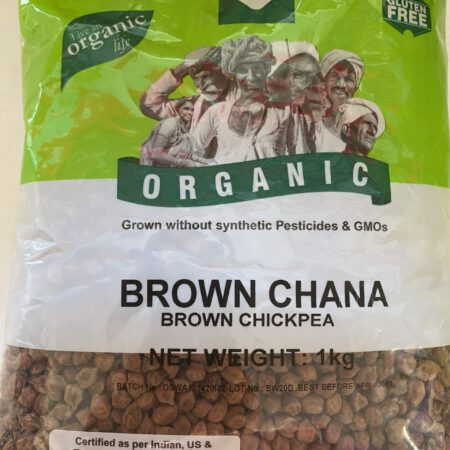 Organic Kala/Brown Chana 1KG