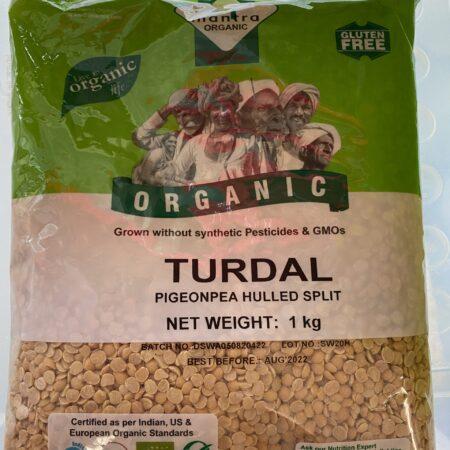Organic Toor Dal 1kg